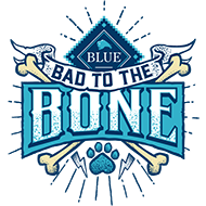 Bad to the Bone Blue Buffalo Logo