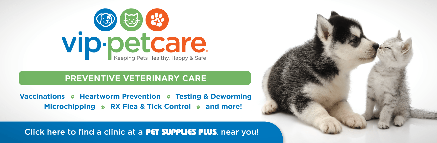 VIP Pet Care | Pet Supplies Plus